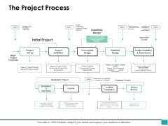 The Project Process Ppt PowerPoint Presentation Infographics Deck