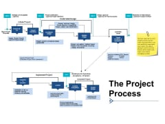 The Project Process Ppt PowerPoint Presentation Show Guide