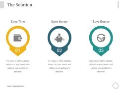 The Solution Ppt PowerPoint Presentation Portfolio