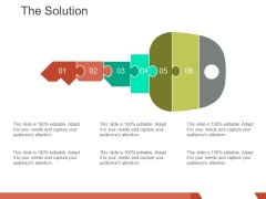 The Solution Template 1 Ppt PowerPoint Presentation Ideas Good