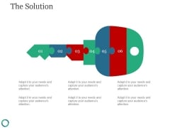 The Solution Template 1 Ppt PowerPoint Presentation Visuals