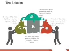 The Solution Template 2 Ppt PowerPoint Presentation Icon Example File