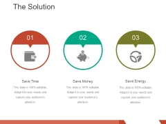 The Solution Template 3 Ppt PowerPoint Presentation Tips