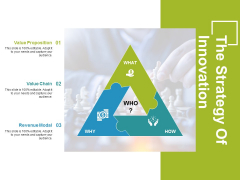 The Strategy Of Innovation Template 1 Ppt PowerPoint Presentation Professional Graphics Download