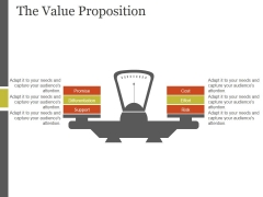 The Value Proposition Template 2 Ppt PowerPoint Presentation Design Templates