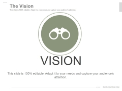 The Vision Ppt PowerPoint Presentation Templates