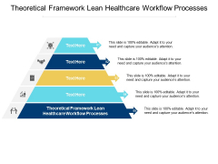 Theoretical Framework Lean Healthcare Workflow Processes Ppt PowerPoint Presentation Summary Information Cpb
