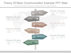 Theory Of Mass Communication Example Ppt Slide
