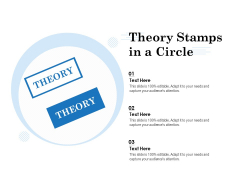 Theory Stamps In A Circle Ppt PowerPoint Presentation Gallery Summary PDF
