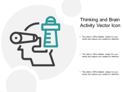Thinking And Brain Activity Vector Icon Ppt PowerPoint Presentation Layouts Example