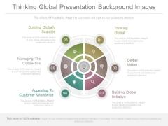 Thinking Global Presentation Background Images