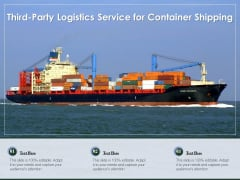 Third Party Logistics Service For Container Shipping Ppt PowerPoint Presentation Slides Guide PDF