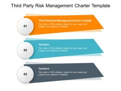 Third Party Risk Management Charter Template Ppt PowerPoint Presentation Pictures Example Introduction Cpb Pdf
