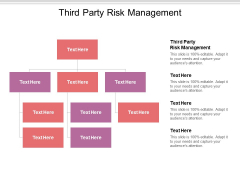 Third Party Risk Management Ppt PowerPoint Presentation Slides Infographic Template Cpb Pdf