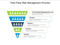 Third Party Risk Management Process Ppt PowerPoint Presentation Ideas Inspiration Cpb