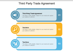 Third Party Trade Agreement Ppt PowerPoint Presentation Summary Example Cpb Pdf
