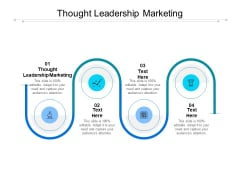 Thought Leadership Marketing Ppt PowerPoint Presentation Summary Graphics Design Cpb