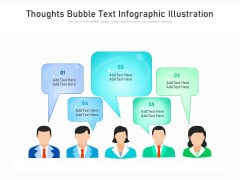 Thoughts Bubble Text Infographic Illustration Ppt PowerPoint Presentation File Graphic Tips PDF