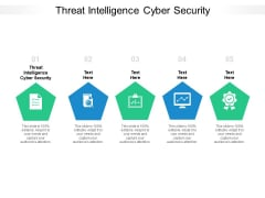Threat Intelligence Cyber Security Ppt PowerPoint Presentation Infographic Template Diagrams Cpb Pdf