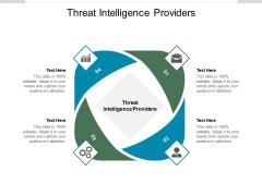 Threat Intelligence Providers Ppt PowerPoint Presentation Portfolio Graphic Tips Cpb Pdf