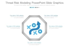 Threat Risk Modeling Powerpoint Slide Graphics