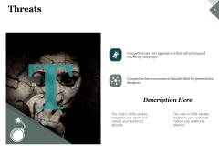 Threats Strategy Ppt PowerPoint Presentation Styles Information