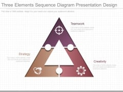 Three Elements Sequence Diagram Presentation Design
