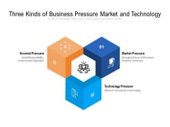 Three Kinds Of Business Pressure Market And Technology Ppt PowerPoint Presentation Gallery Themes PDF