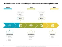 Three Months Artificial Intelligence Roadmap With Multiple Phases Download