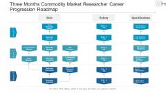 Three Months Commodity Market Researcher Career Progression Roadmap Topics