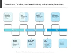 Three Months Data Analytics Career Roadmap For Engineering Professional Designs