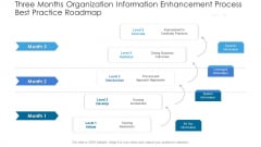 Three Months Organization Information Enhancement Process Best Practice Roadmap Microsoft