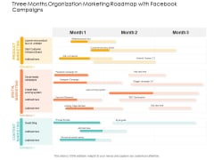 Three Months Organization Marketing Roadmap With Facebook Campaigns Introduction