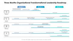 Three Months Organizational Transformational Leadership Roadmap Themes