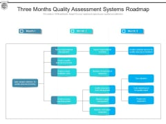 Three Months Quality Assessment Systems Roadmap Summary