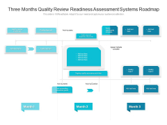 Three Months Quality Review Readiness Assessment Systems Roadmap Sample
