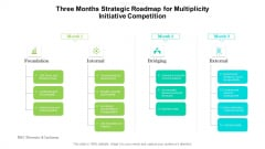 Three Months Strategic Roadmap For Multiplicity Initiative Competition Elements