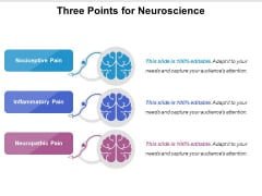 Three Points For Neuroscience Ppt PowerPoint Presentation Icon Layout Ideas PDF