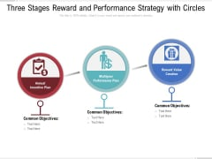 Three Stages Reward And Performance Strategy With Circles Ppt PowerPoint Presentation File Microsoft PDF