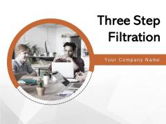 Three Step Filteration Innovation Deployment Ppt PowerPoint Presentation Complete Deck