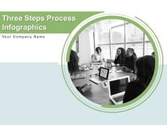 Three Steps Process Infographics Benefit Strategic Business Ppt PowerPoint Presentation Complete Deck