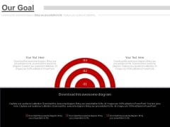 Three Steps To Focus On Target Powerpoint Slides