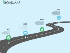 Three Trees Architecture Roadmap Ppt Infographic Template File Formats PDF
