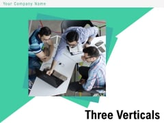 Three Verticals Subscription Plan Purchase Plans Arrows Ppt PowerPoint Presentation Complete Deck