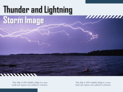 Thunder And Lightning Storm Image Ppt PowerPoint Presentation Pictures Model PDF