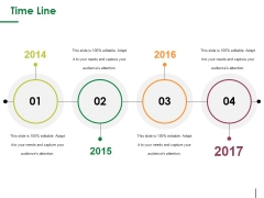 Time Line Ppt PowerPoint Presentation Inspiration Mockup