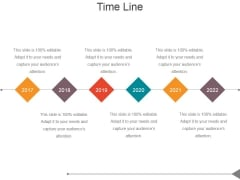 Time Line Ppt PowerPoint Presentation Rules