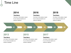 Time Line Ppt PowerPoint Presentation Summary Gridlines