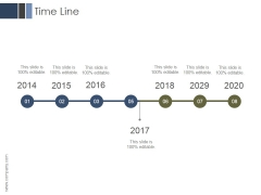 Time Line Ppt PowerPoint Presentation Themes