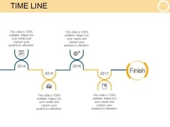 Time Line Template 1 Ppt PowerPoint Presentation Rules